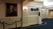 Hall of Presidents Lobby Walt's Bust