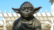 Lucasfilm San Francisco HQ Yoda Fountain Statue
