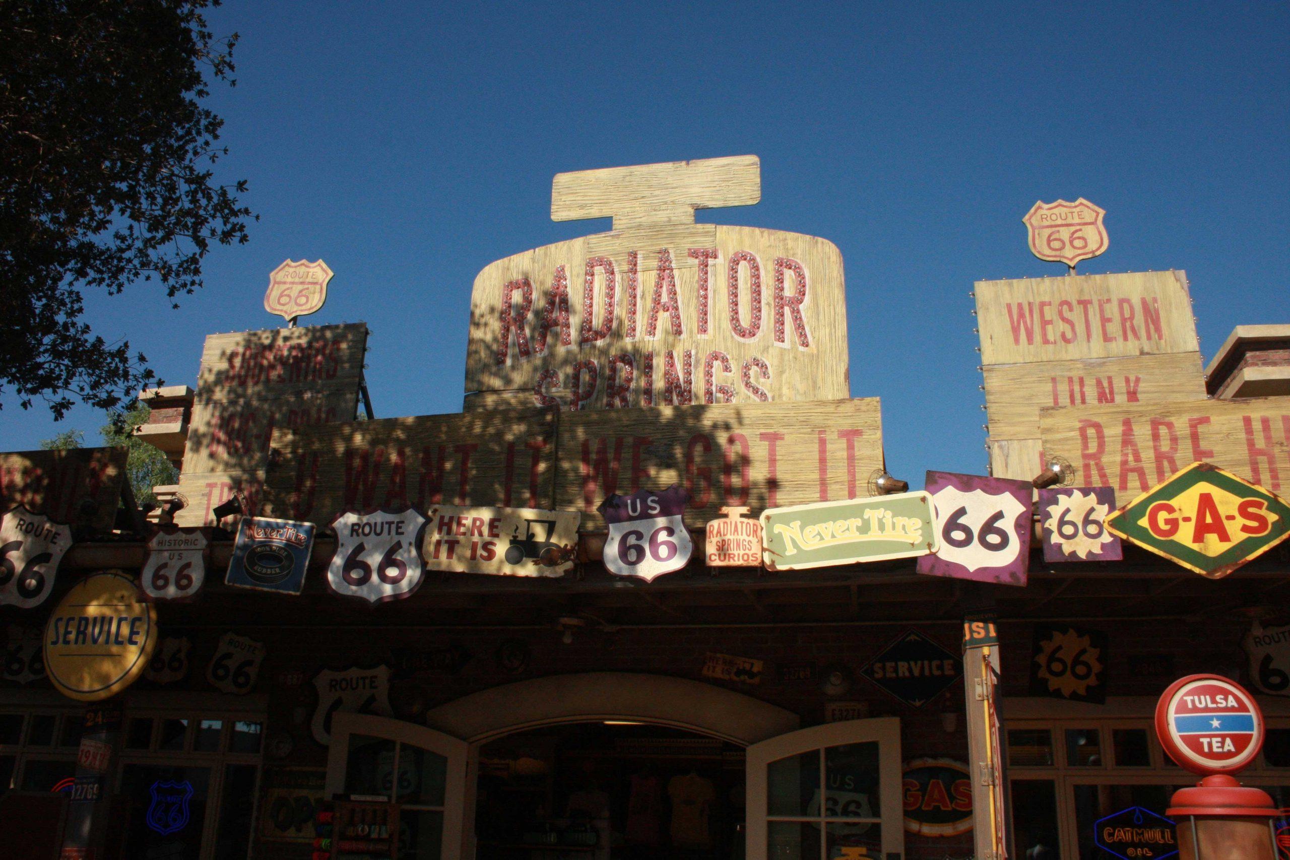 Radiator Springs Curios Wanderdisney