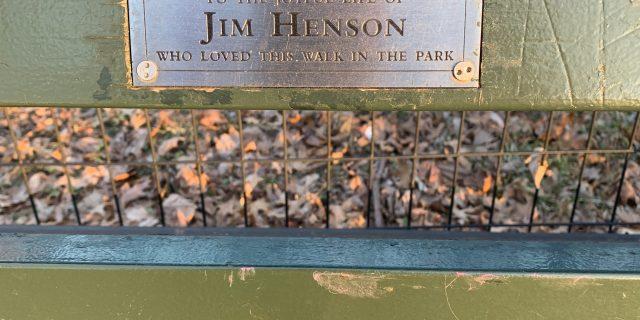 Jim Henson's Bench