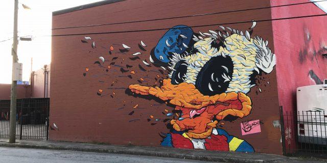 Donald Mural by Matt Gondek