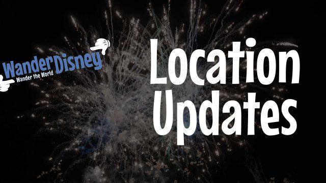 Location Updates (February 2020)