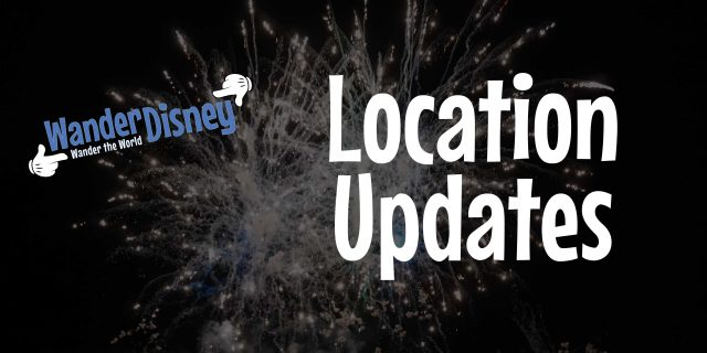 Location Updates (November 2019)