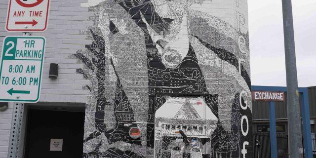 Harper Goff Mural by Chris Bates