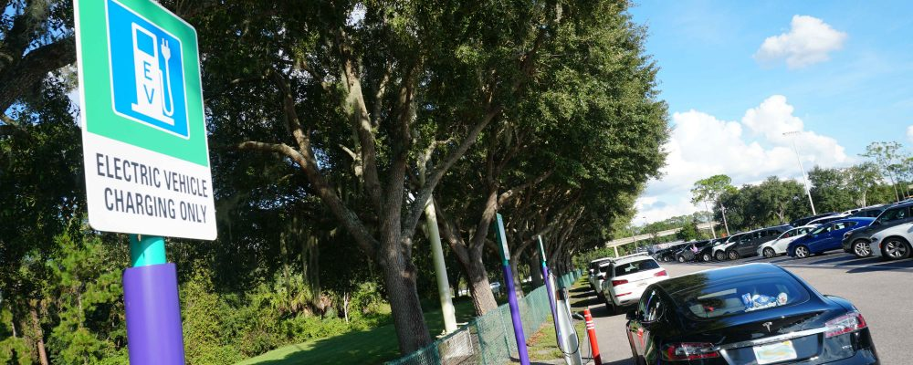 Where and How to Charge Your EV on Walt Disney World Property
