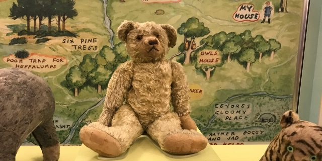 Meeting the Original Winnie-the-Pooh (and Tigger, too)