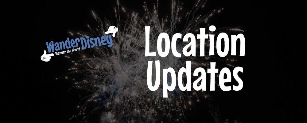 Location Updates (October 2019)