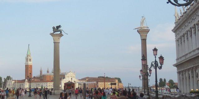 Columns of San Marco and San Todaro (Venice)