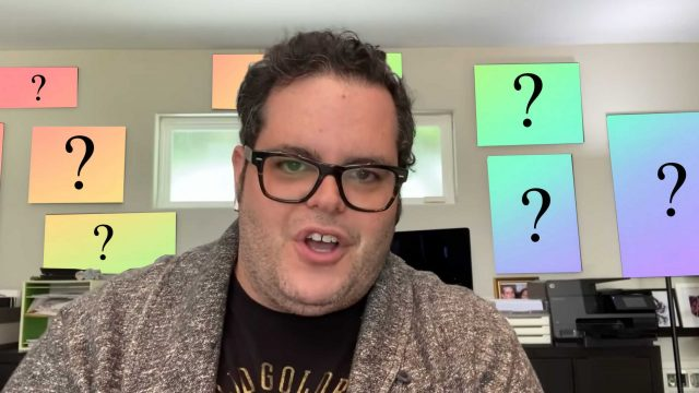 """What's On Josh Gad's Wall On """"Reunited Apart"""""""